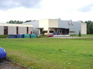 Industriegebäude mit Lagerhalle Bluhm & Weber in Rheinbreitbach